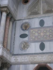 Il Gotico a Venezia. Foto di Fiona Sampson a Venezia in un giorno di pioggia