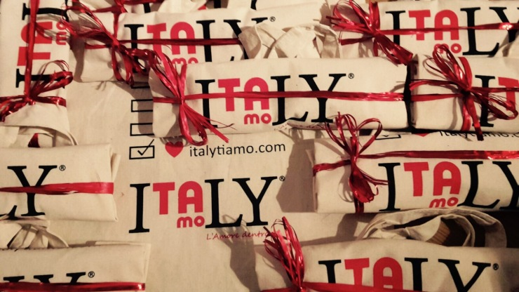 Italytiamo bags wrapped