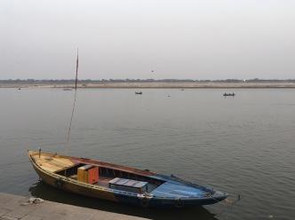 Una barca a Varanasi