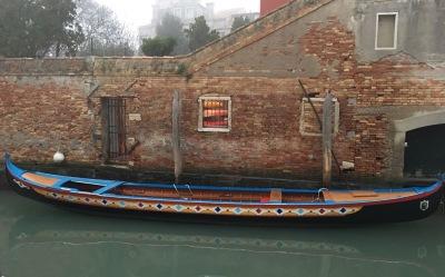 Una barca a Venezia