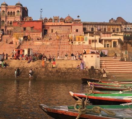 Barche a Varanasi