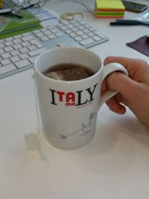 Coffee break in the office - Erica