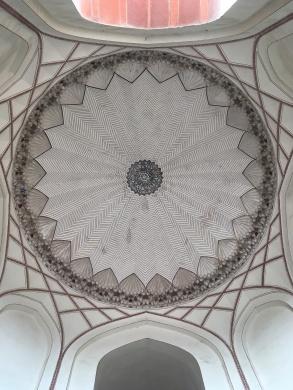 La cupola della tomba di Humayun a Nuova Delhi