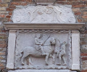 San Martino Church sign