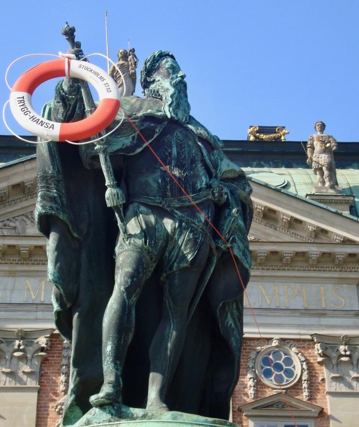 Stockholm life buoy